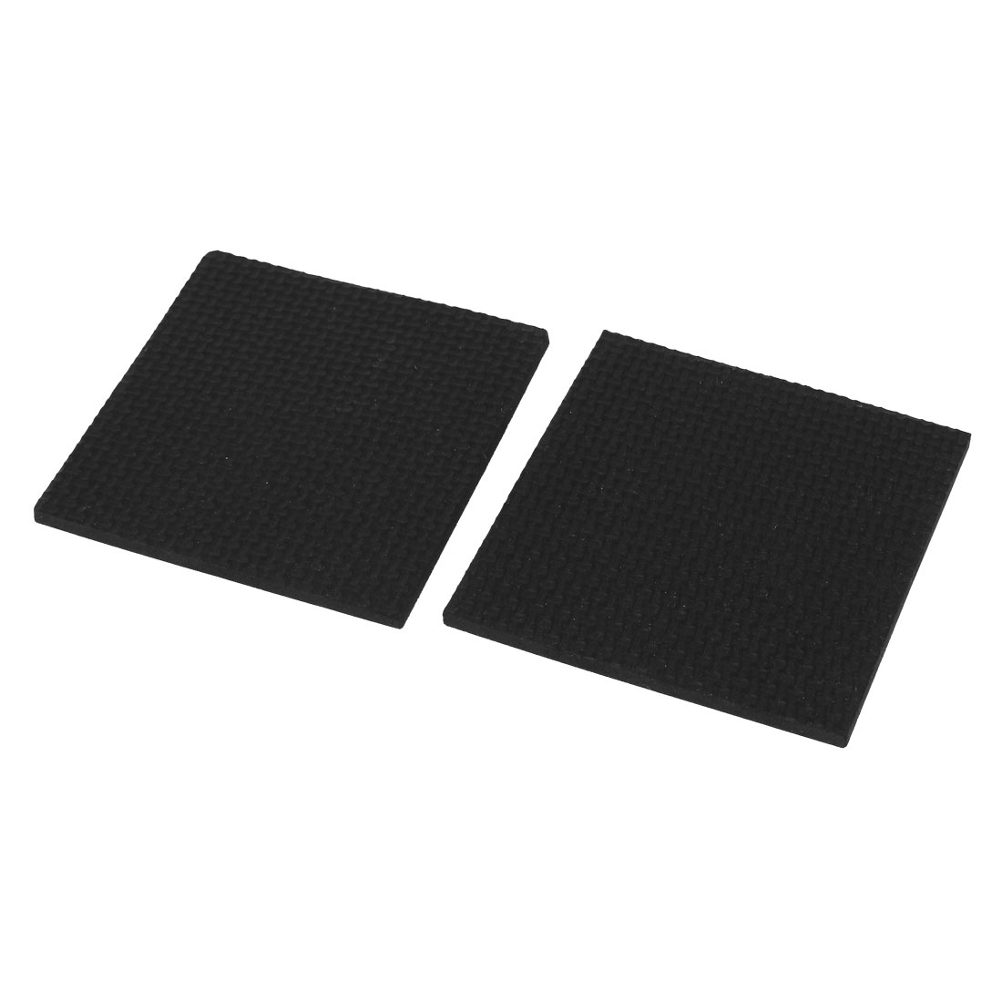 Chair Furniture Leg Floor Protection Self Adhesive Square Cushion Pad 8.5cm 2pcs