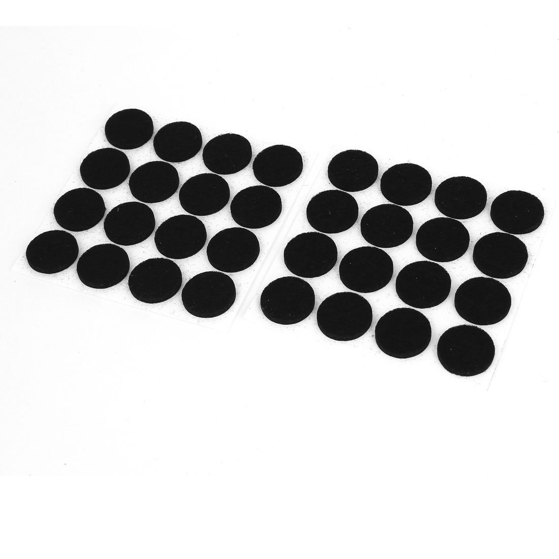 32pcs 18mm Round Felt Pads Furniture Floor Self Adhesive Scratch Protection Mats
