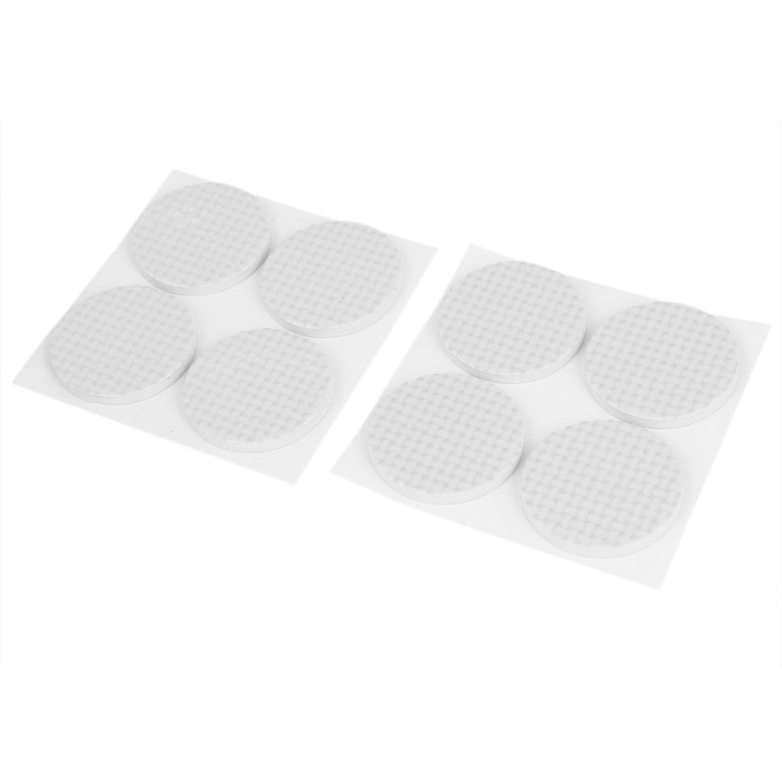 Furniture Floor Protection Cushion Self Adhesive Protector Pads 38mm Dia. 8pcs