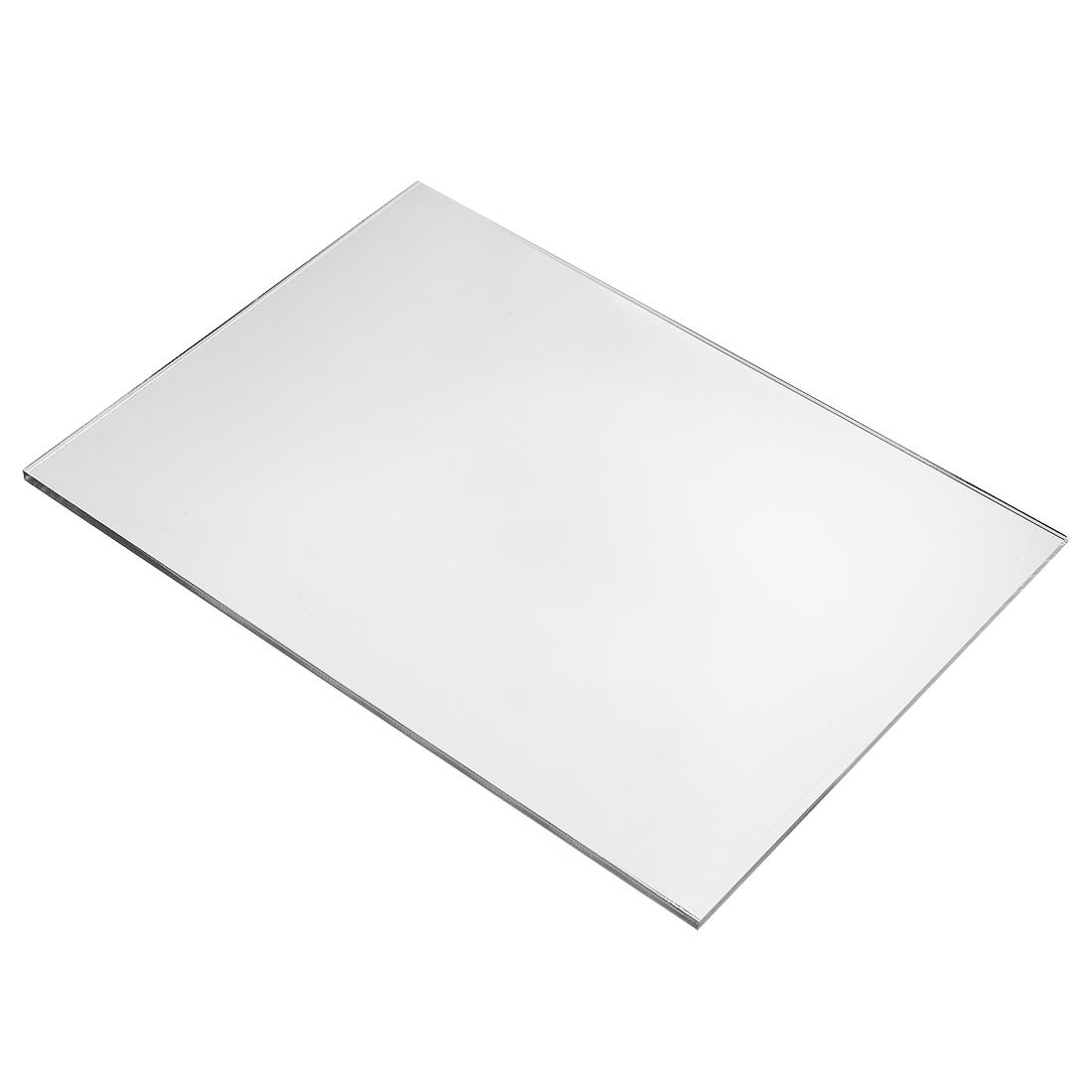 Clear Plastic Acrylic Plexiglass Sheet A4 Size 210mm x 297mm x 5mm