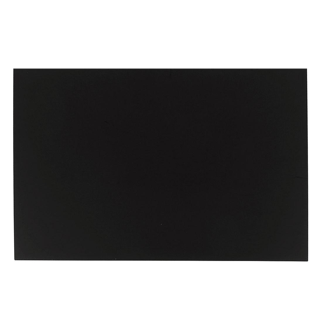 Black Plastic Acrylic Plexiglass Sheet A3 Size 297mm x 420mm x 5mm
