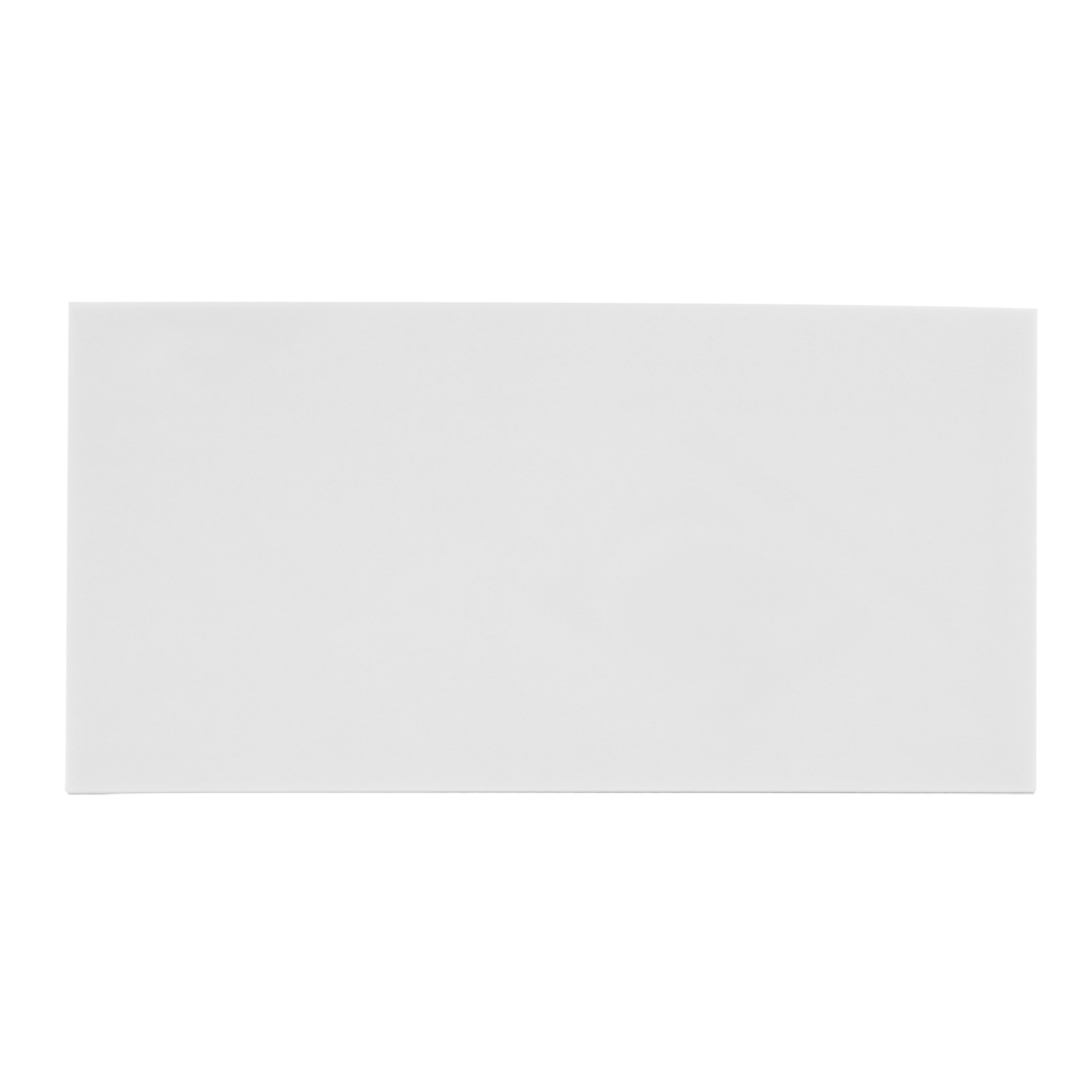 3mm White Plastic Acrylic Plexiglass Sheet A4 Size 210mm x 297mm
