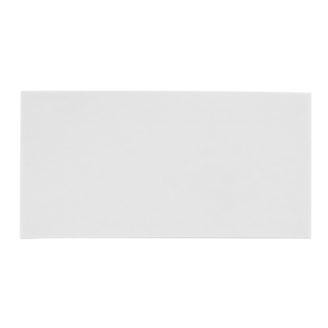 White Plastic Acrylic Cut Plexiglass Sheet A3 Size 297mm x 420mm x 2mm