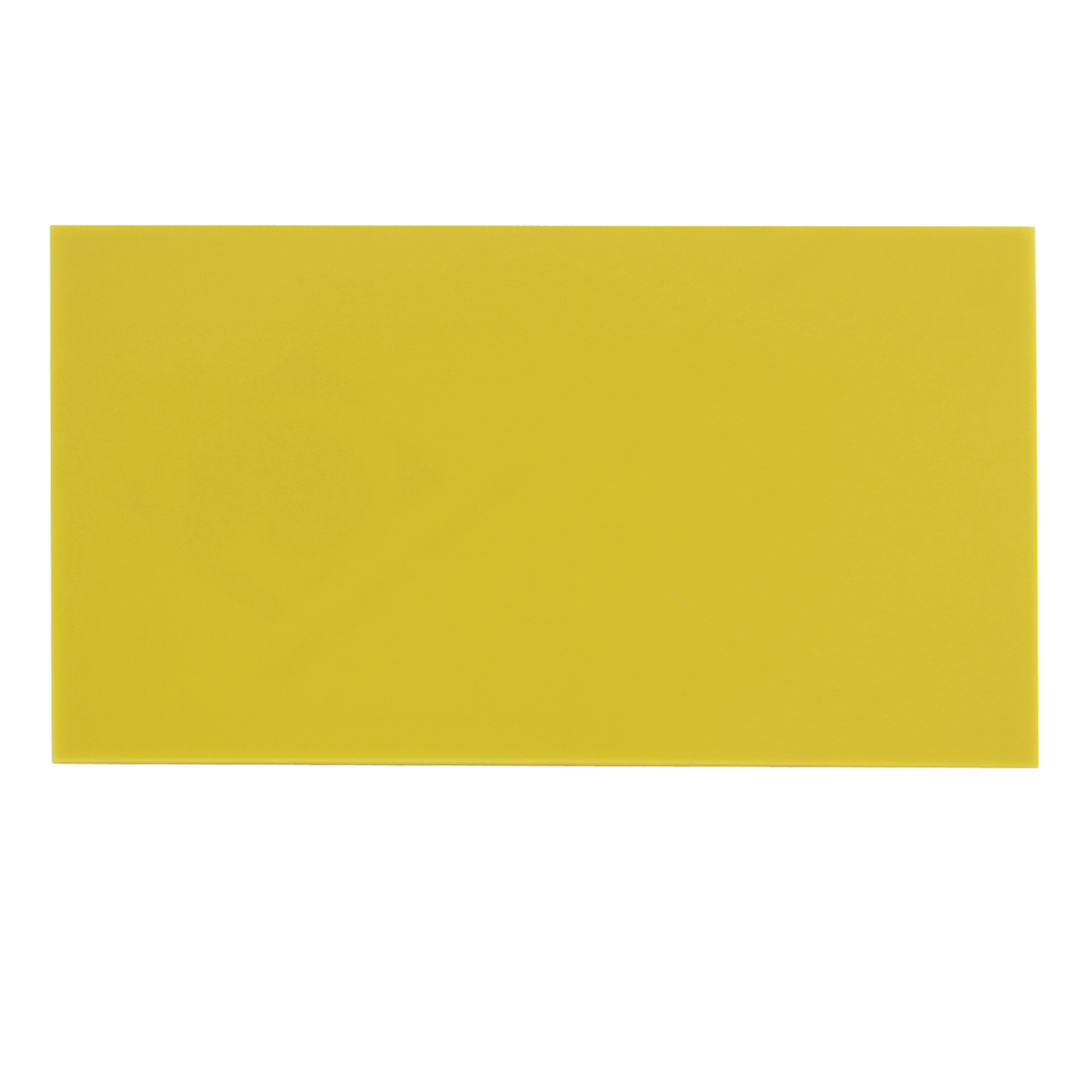 Yellow Plastic Acrylic Plexiglass Sheet A4 Size 210mm x 297mm x 3mm