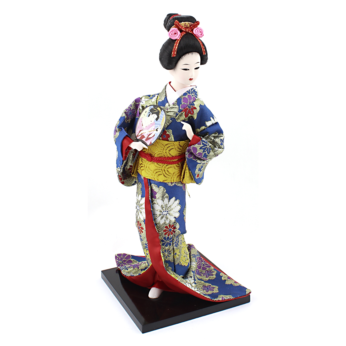 Japanese Woman Statue Figurine Crafts Doll Festival Gift 32cm Height
