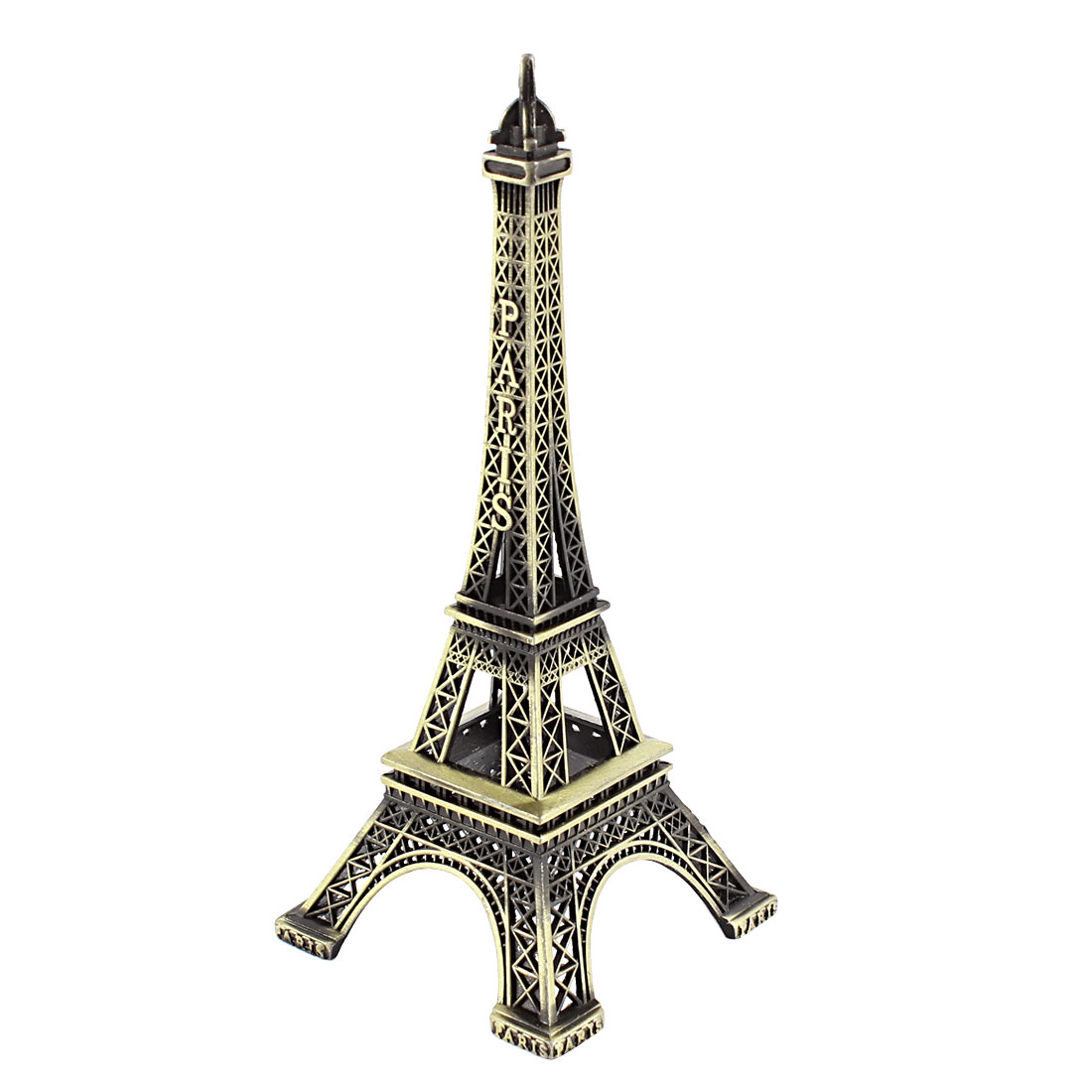 Metal France Paris Eiffel Tower Stand Model Miniature Table Decor 15cm High