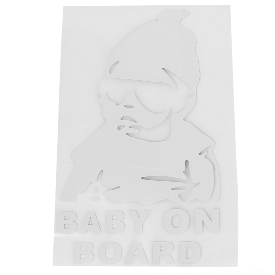 Baby on Board Car Vinyl Decal Waterproof Reflective Wall Stickers Oranment