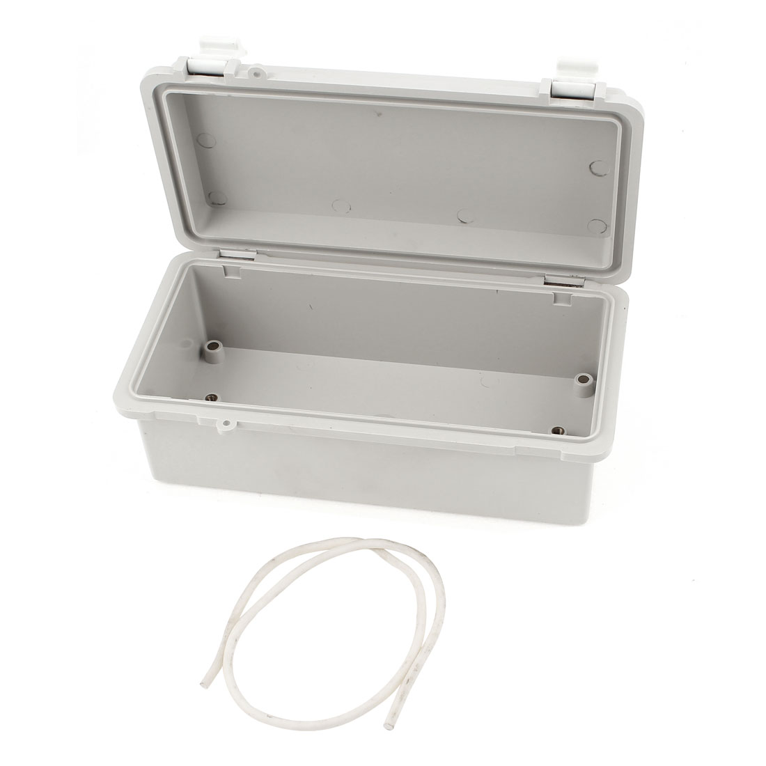 Dustproof IP65 Rectangle Gray Plastic Project Enclosure Case DIY Electronic Wiring Junction Box 185x85x75mm