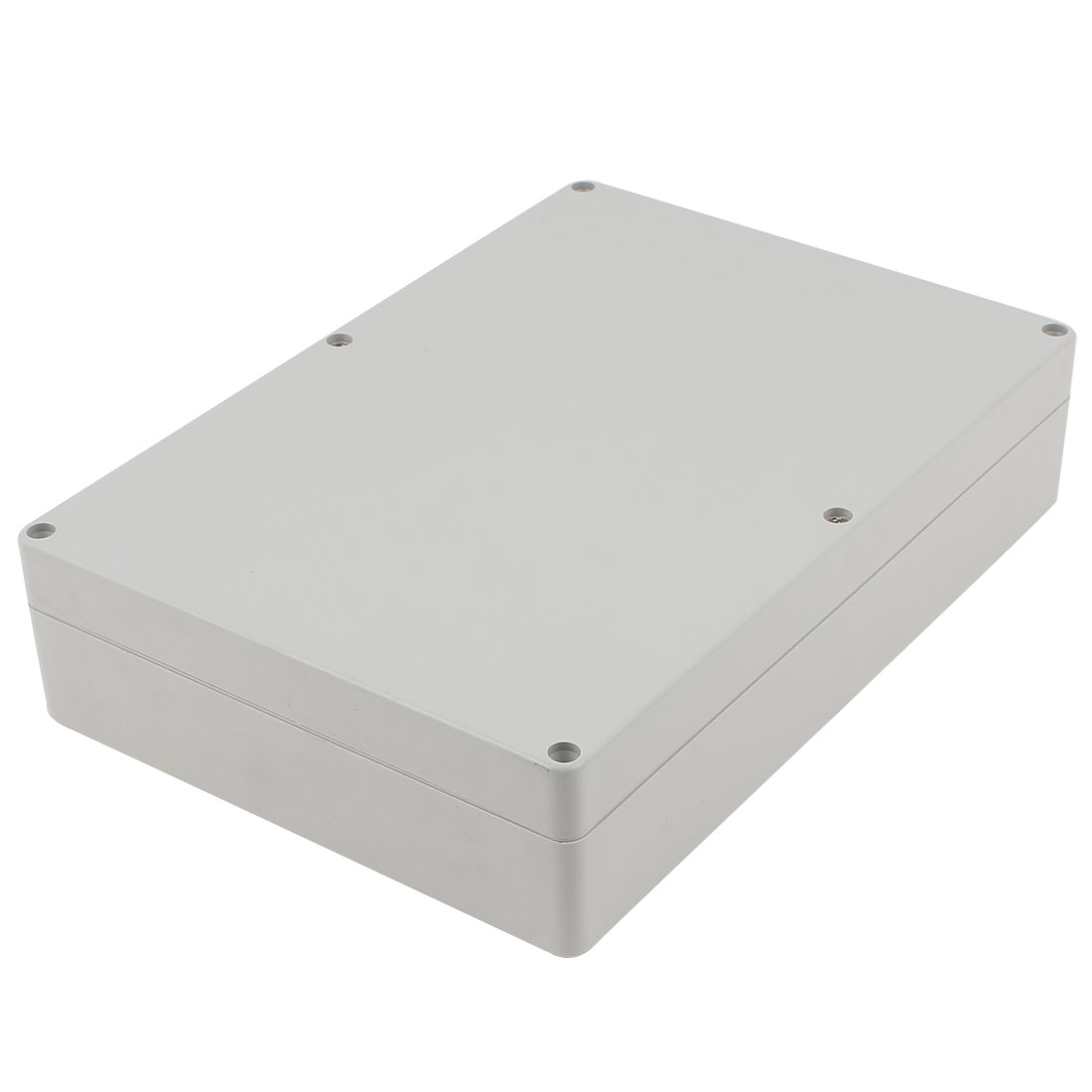 Dustproof IP65 Gray Plastic Project Enclosure Case DIY Electronic Wiring Junction Box 265x185x61mm