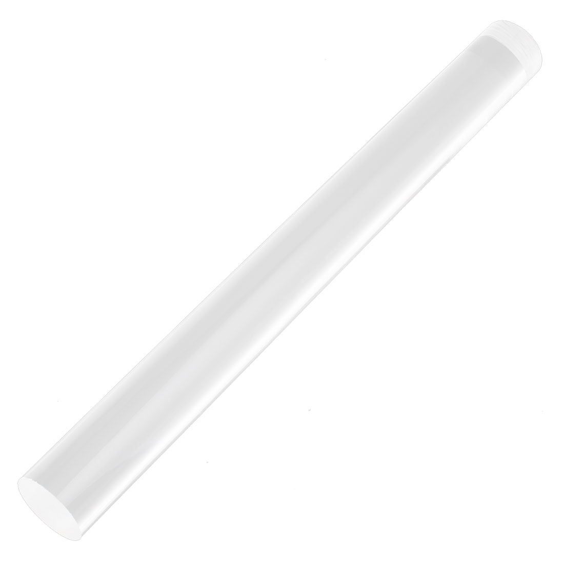 30mm Diameter Clear Round Acrylic Rod PMMA Circular Bar 300mm Length
