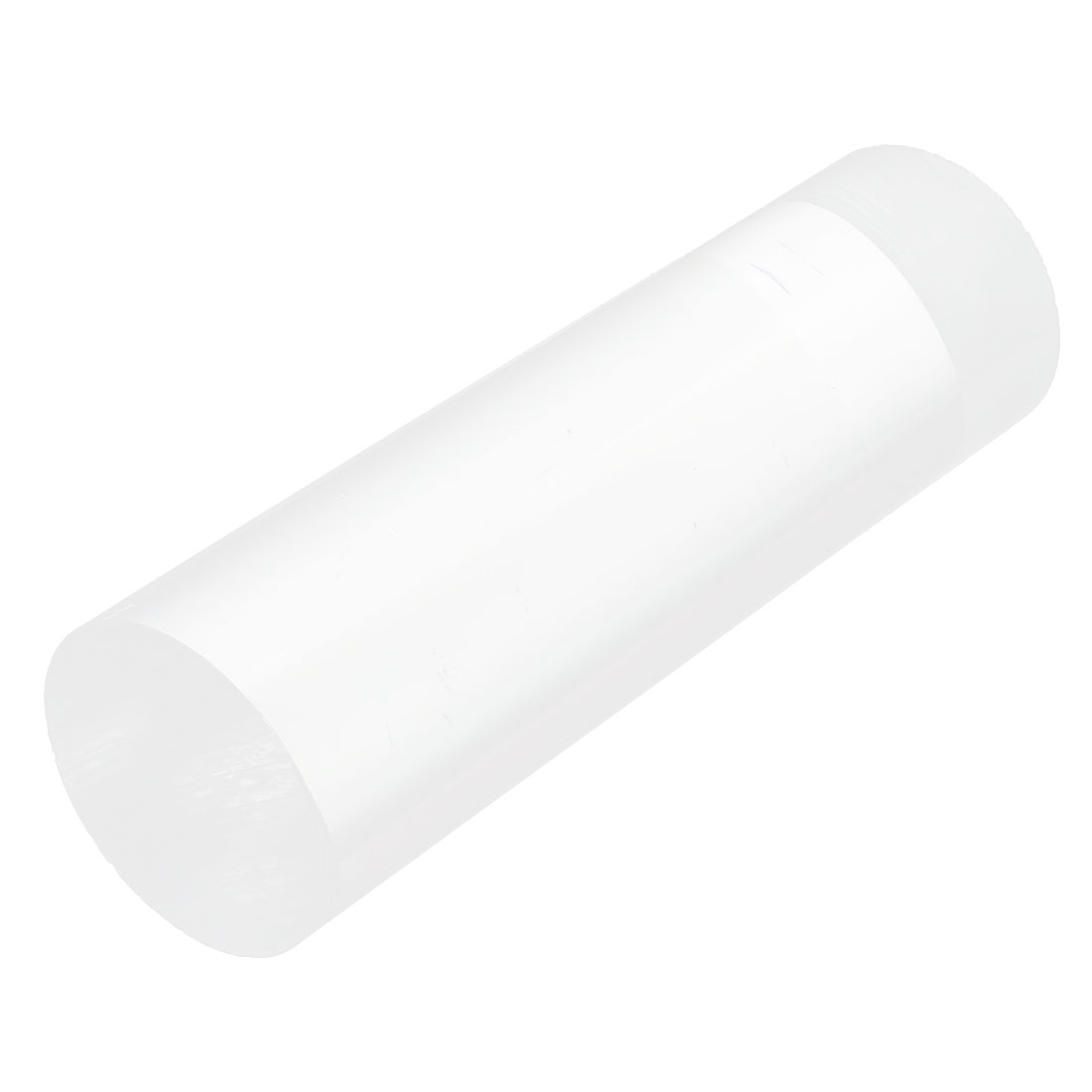 "Clear Acrylic Round Rod PMMA Circular Bar 6"" Long 45mm Diameter"