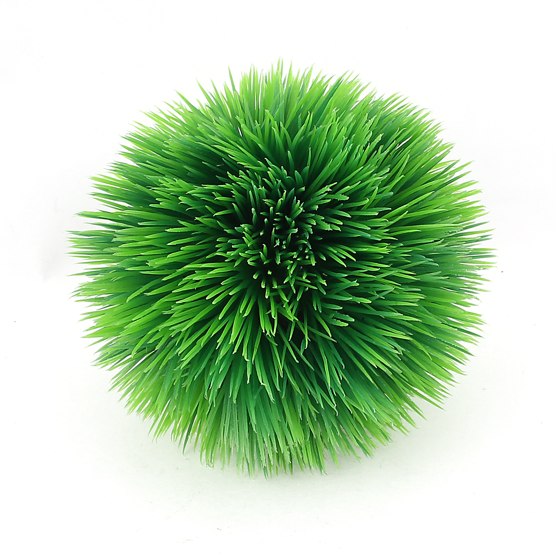 Aquarium Fish Tank Man Made Green Aquatic Ball Water Grass Plant Decor