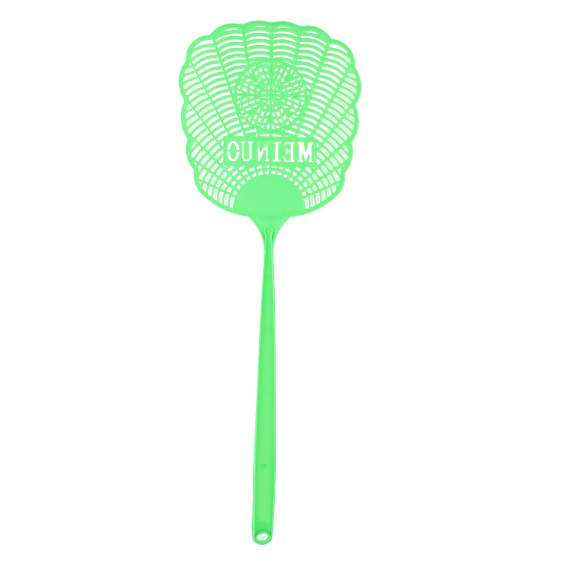 Green Plastic Hollow Out Flower Mosquito Bug Cockroach Fly Swatter Catcher