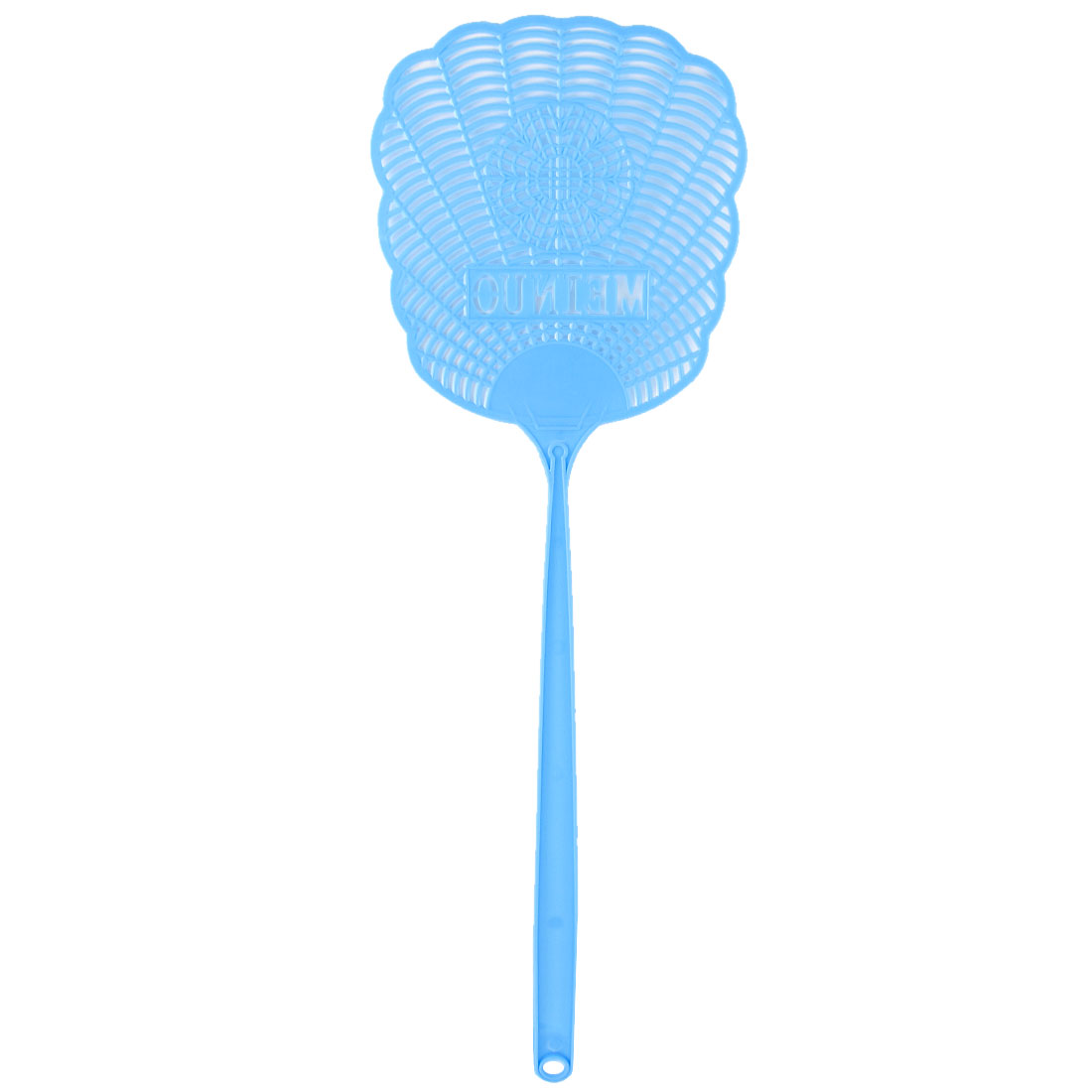 Bule Plastic Hollow Out Flower Mosquito Bug Cockroach Fly Swatter Catcher