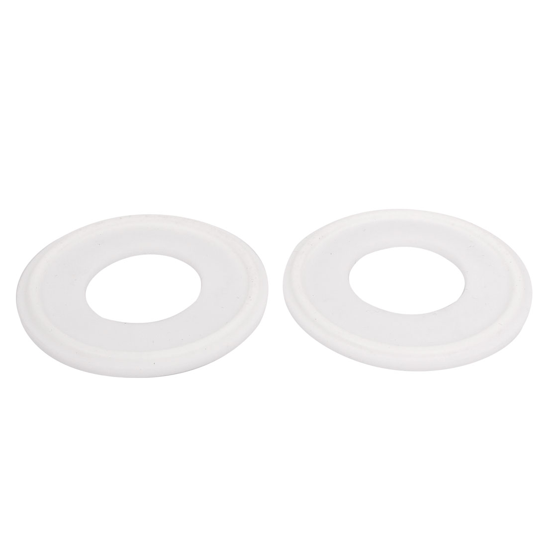 "25mm PTFE Gasket 2pcs for 1.5"" Tri Clamp Sanitary Pipe Fittings Ferrules"