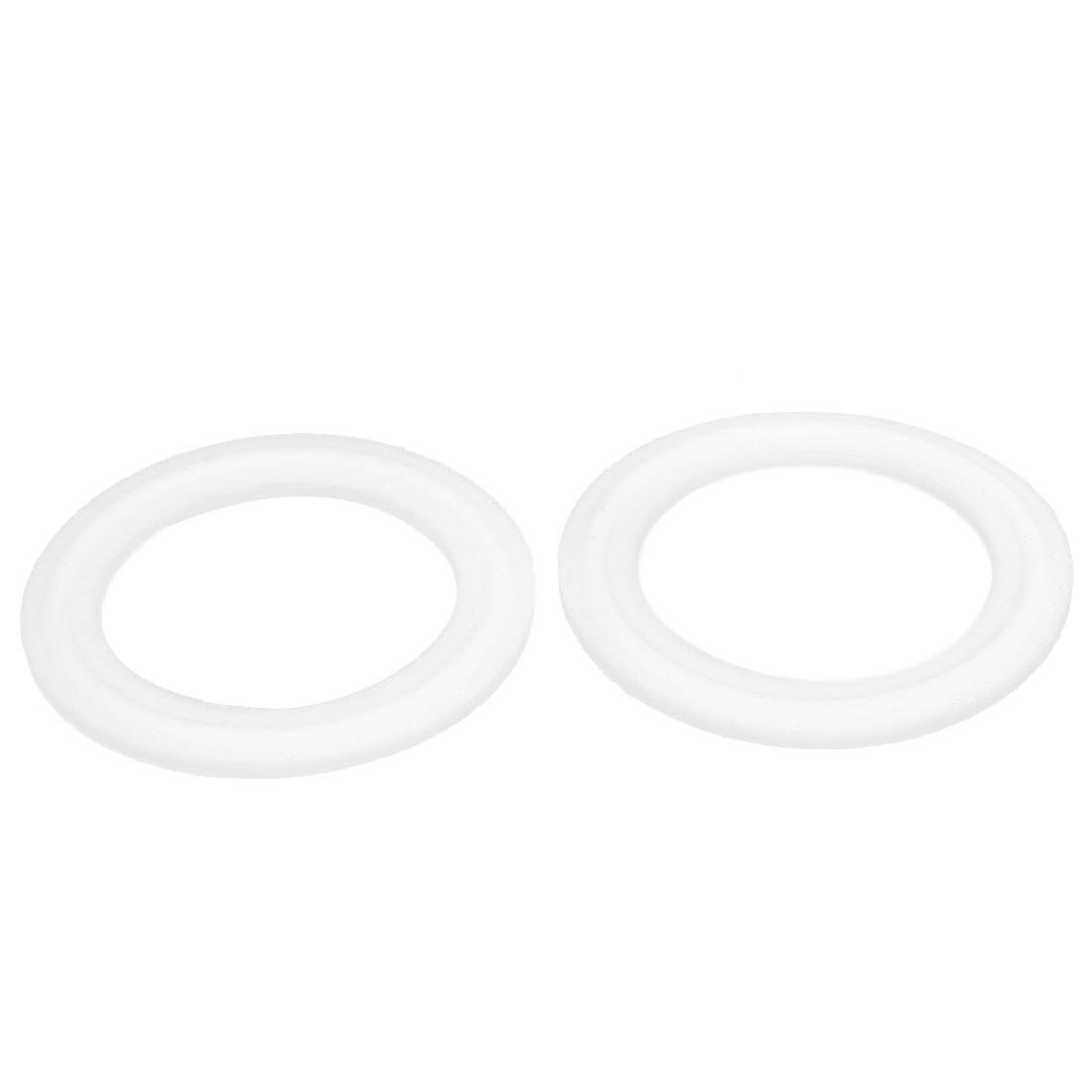 "38mm PTFE Gasket 2pcs for 1.5"" Clamp Sanitary Pipe Fittings Ferrules"