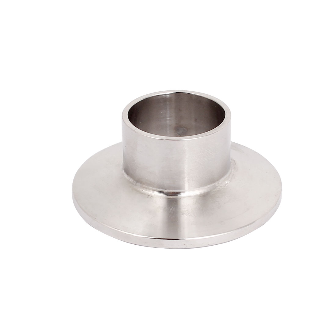 "SUS 316 Stainless Steel 25mm OD Sanitary Pipe Weld on Ferrule Fit 1.5"" Tri Clamp"
