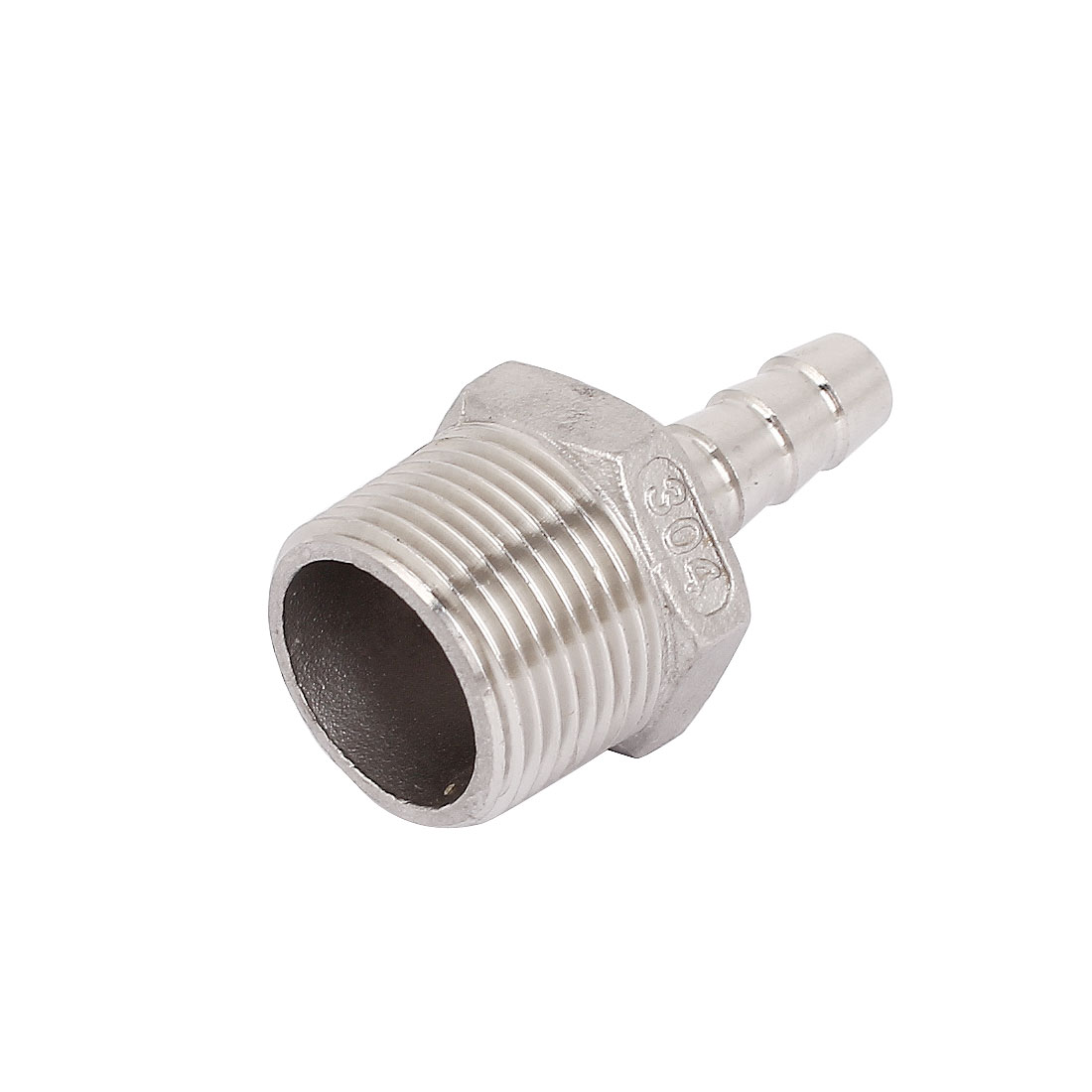 3/4BSP Male Thread to 10mm Hose Barb Straight Quick Fitting Adapter Coupler