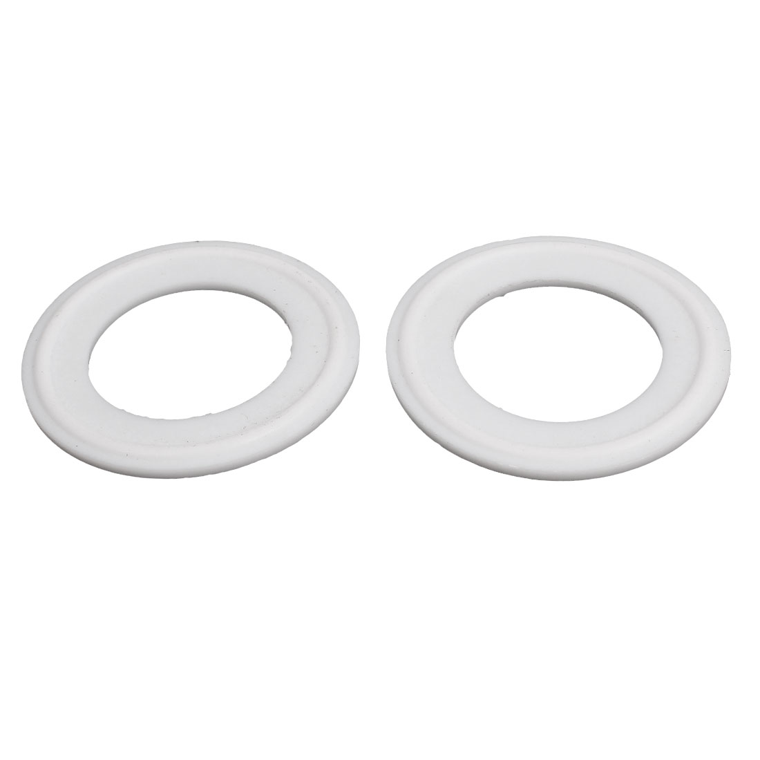 "32mm PTFE Gasket 2pcs for 1.5"" Tri Clamp Sanitary Pipe Fittings Ferrules"