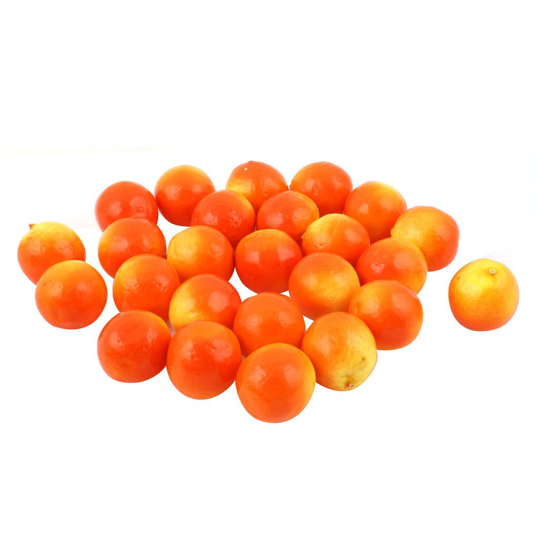 25 Pcs Mini Artificial Fake Pomegranate Kitchen Table Wedding Party Fruit Decor