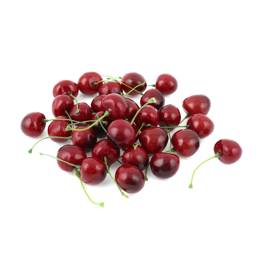 30 Pcs Artificial Fake Plastic Cherry Fruit Food Party Table Decoration