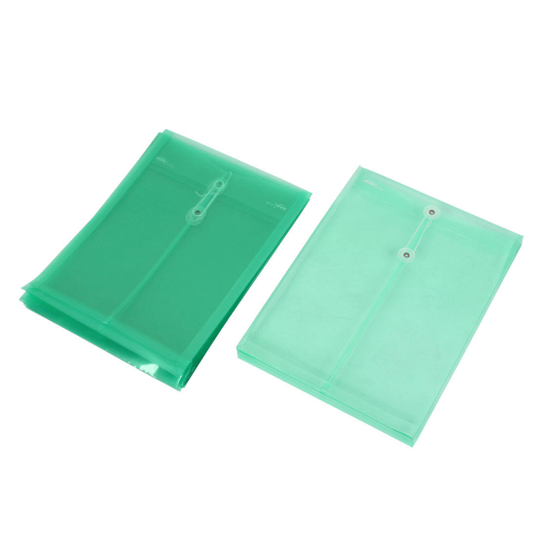 Office Stationery A4 Paper Document Clip File Bag Holder Organizer Teal 8pcs