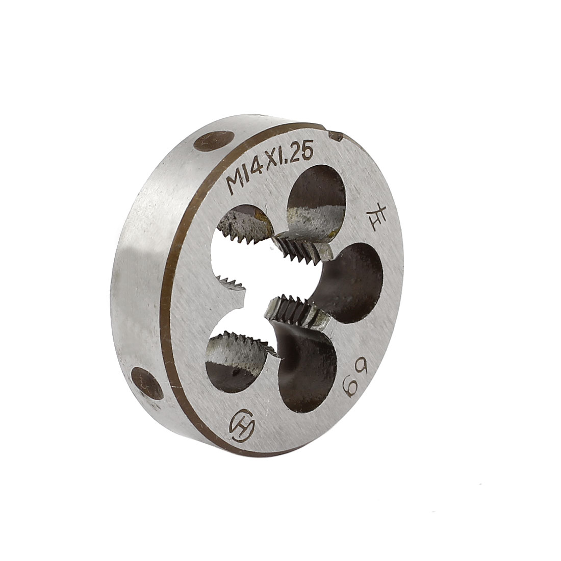 M14 x 1.25mm Metric 38mm OD Dia Steel Round Threading Die Thread Cutting Tool