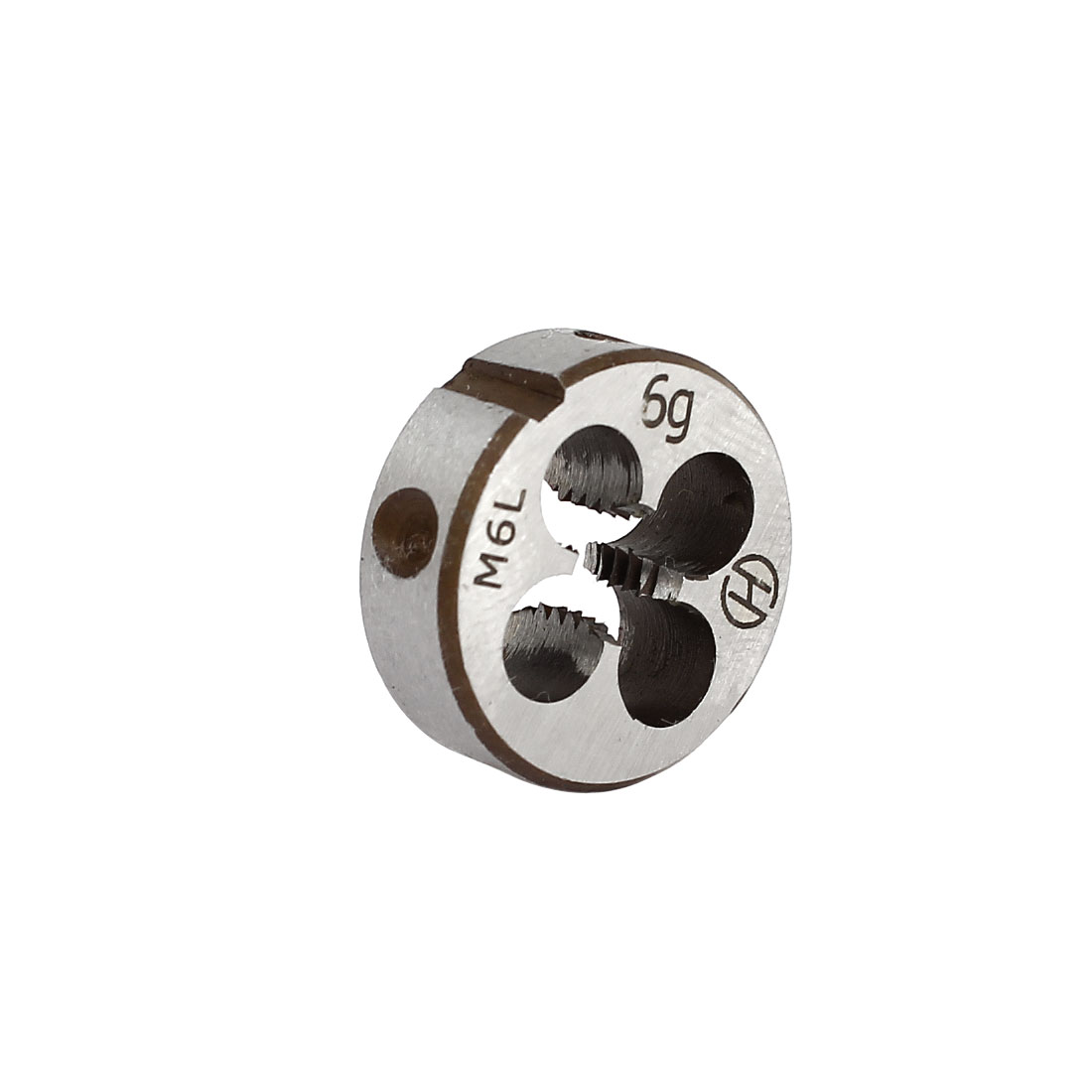 M6 Metric Screw 20mm OD Dia Steel Round Threading Die Thread Cutting Tool