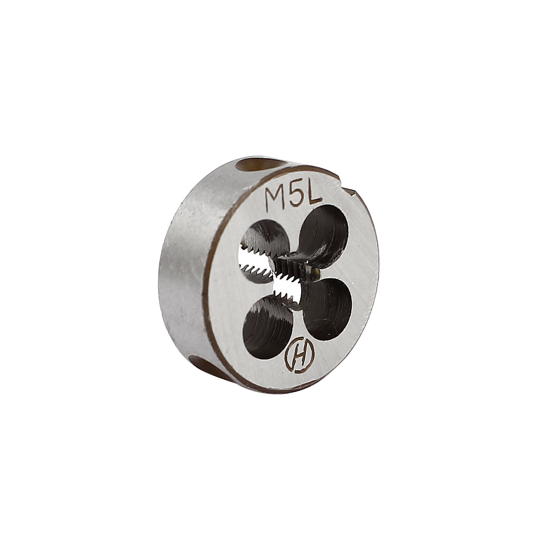 M5 Metric 20mm OD Dia Left Hand Round Threading Die Thread Cutting Tool