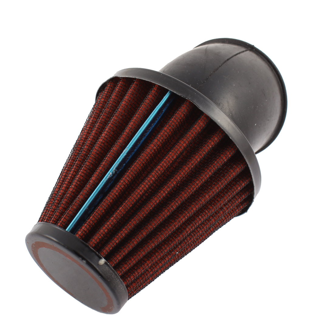 48mm Diameter Red Rubber Flange Air Intake Filter for Motorbike