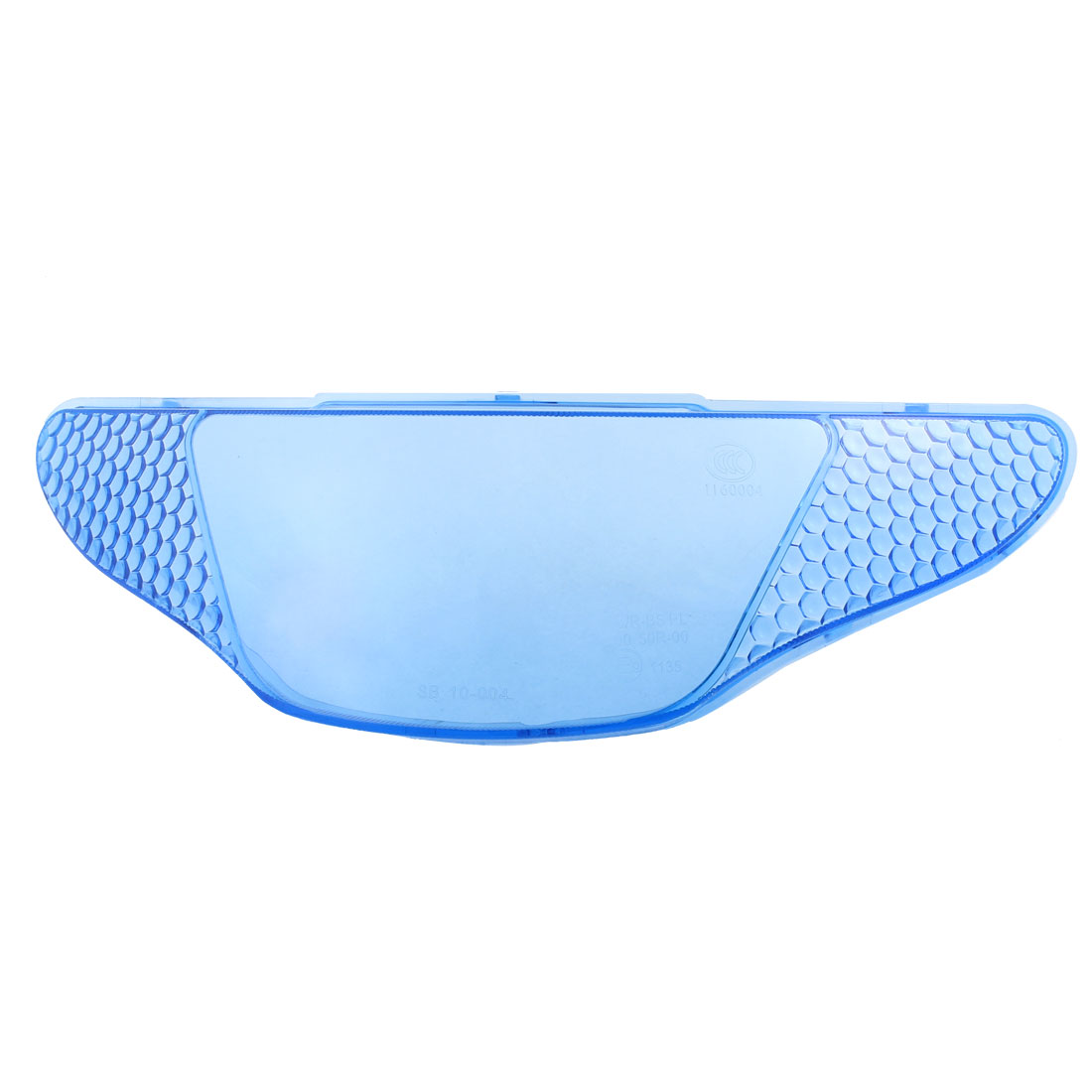 Blue Clear Plastic Rear Light Cover for Motorcycle Motorbike
