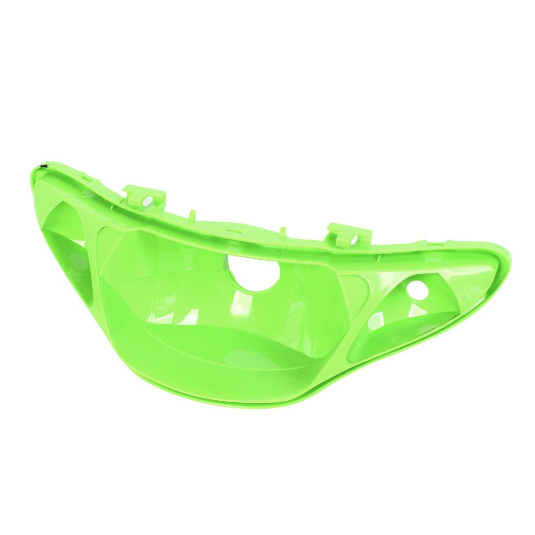Green Plastic Rear Tail Fog Brake Light Lamp Cover Trim for Motorcycle
