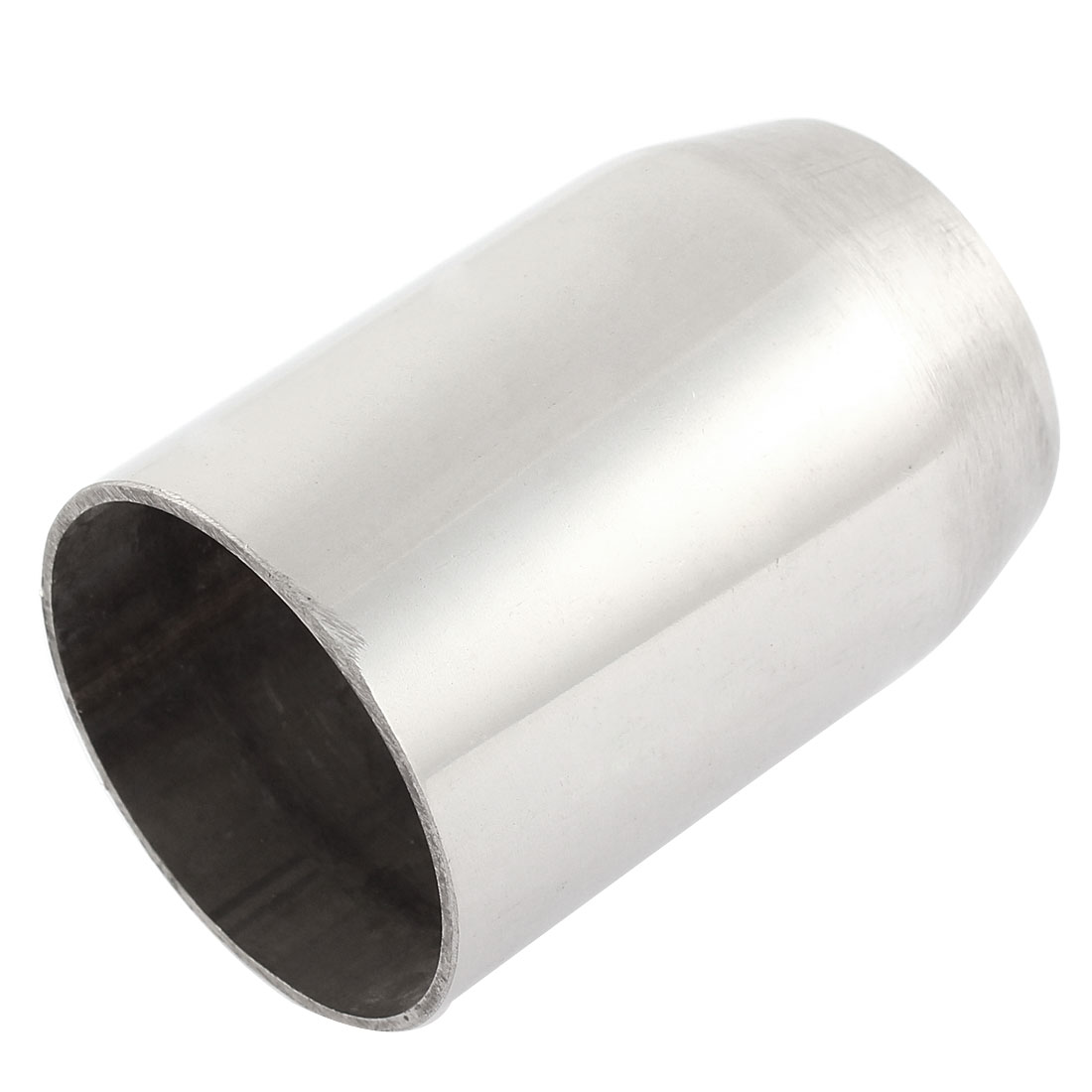 4.8cm Dia Sliver Tone Exhaust Muffler Adapter Connentor for Motorcycle