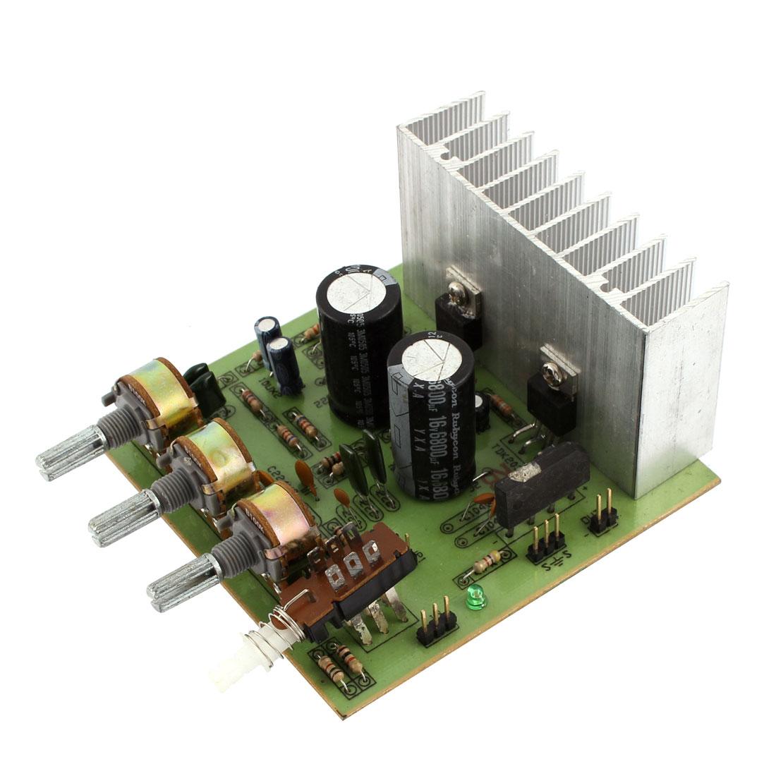 LFE Subwoofer Audio Hi-Fi 2 Channel Car Boat Stereo Power Amplifier Board