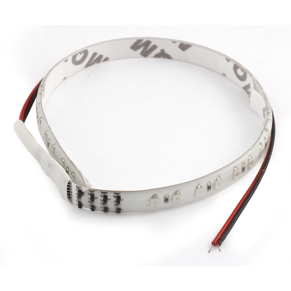 Car 30cm 32 SMD LED Light Waterproof Self-Adhesive Flexible Strip Lamp Colorful internal