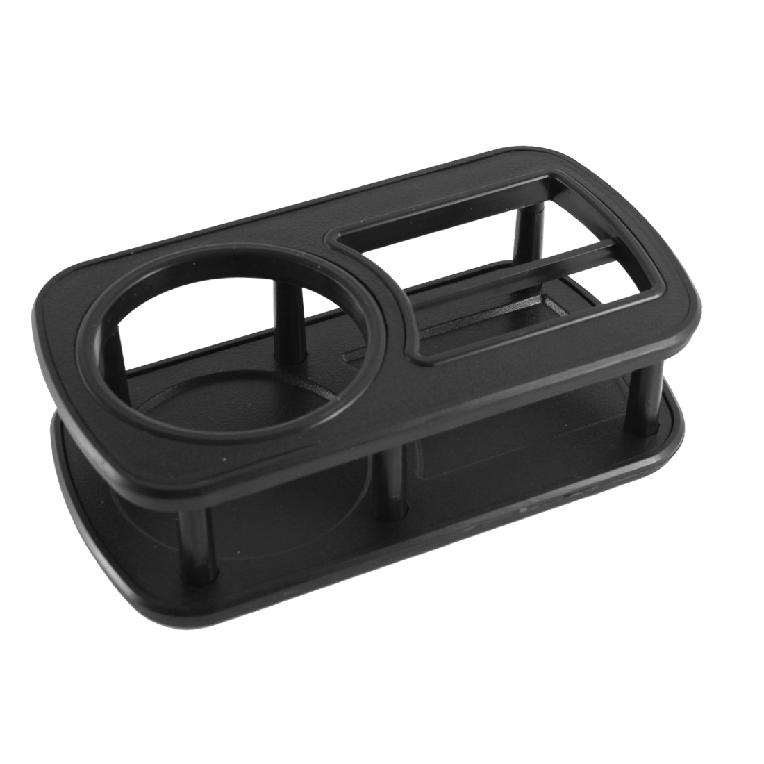 Car Auto Black Plastic Cup Bottle Can Drinking Holder Table
