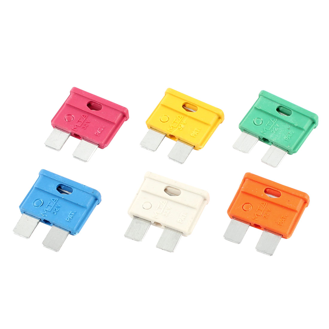 12 Pcs Multi Color Auto Car ATC Blade Fuses 10A 15A 20A 25A 30A 40A