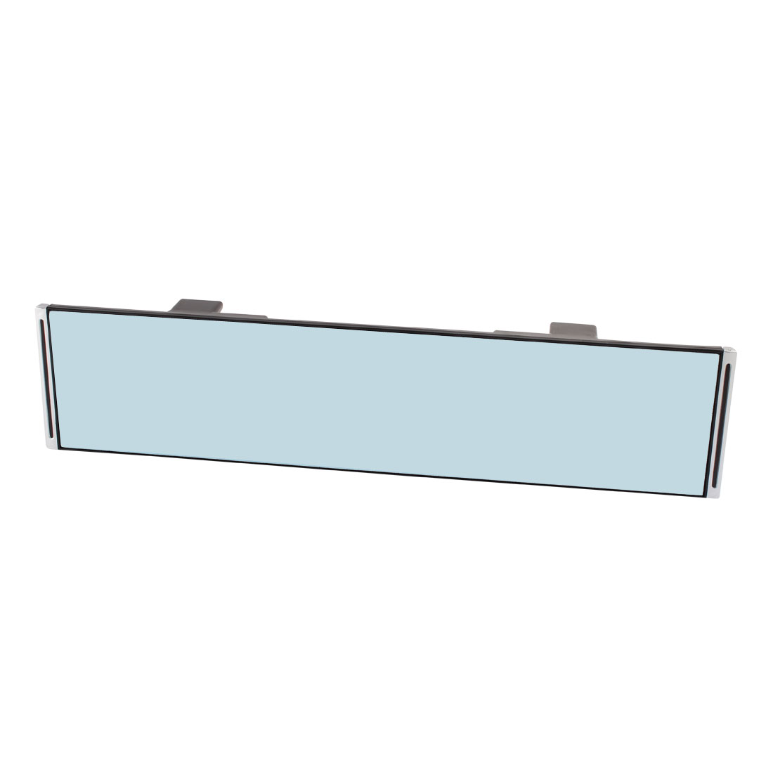 Auto Car Interior Rectangle Blue Wide Angle Flat Rear View Mirror 30cm Length