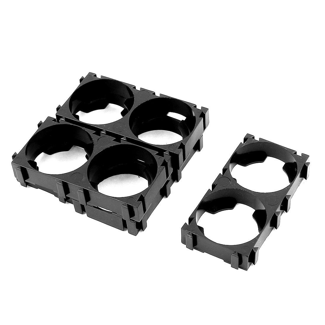 5 Pcs 26650 Lithium Cell Battery Dual Holder Bracket for DIY Battery Pack