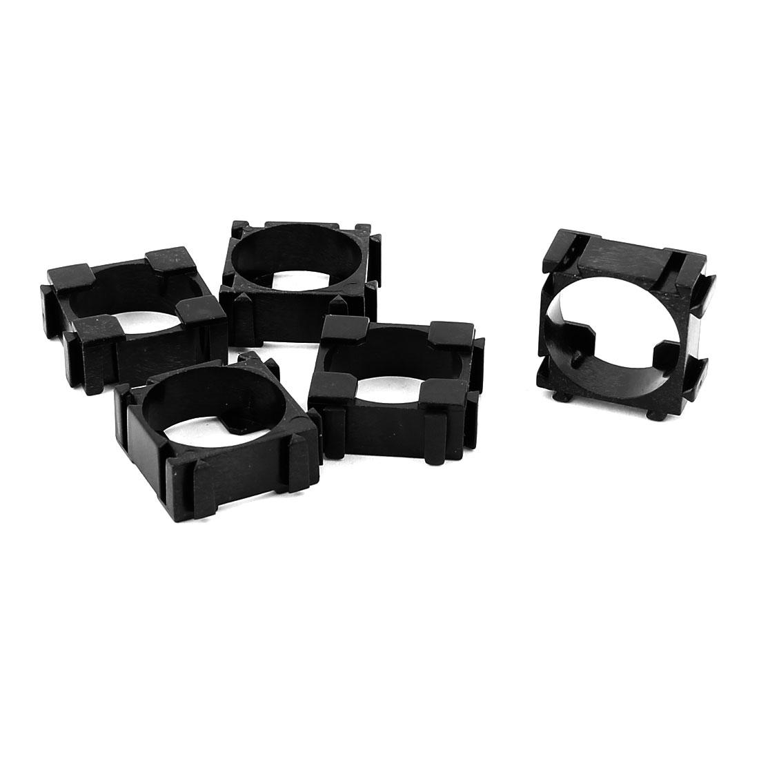 5 Pcs 18650 Lithium Ion Cell Battery Holder Bracket for DIY Battery Pack