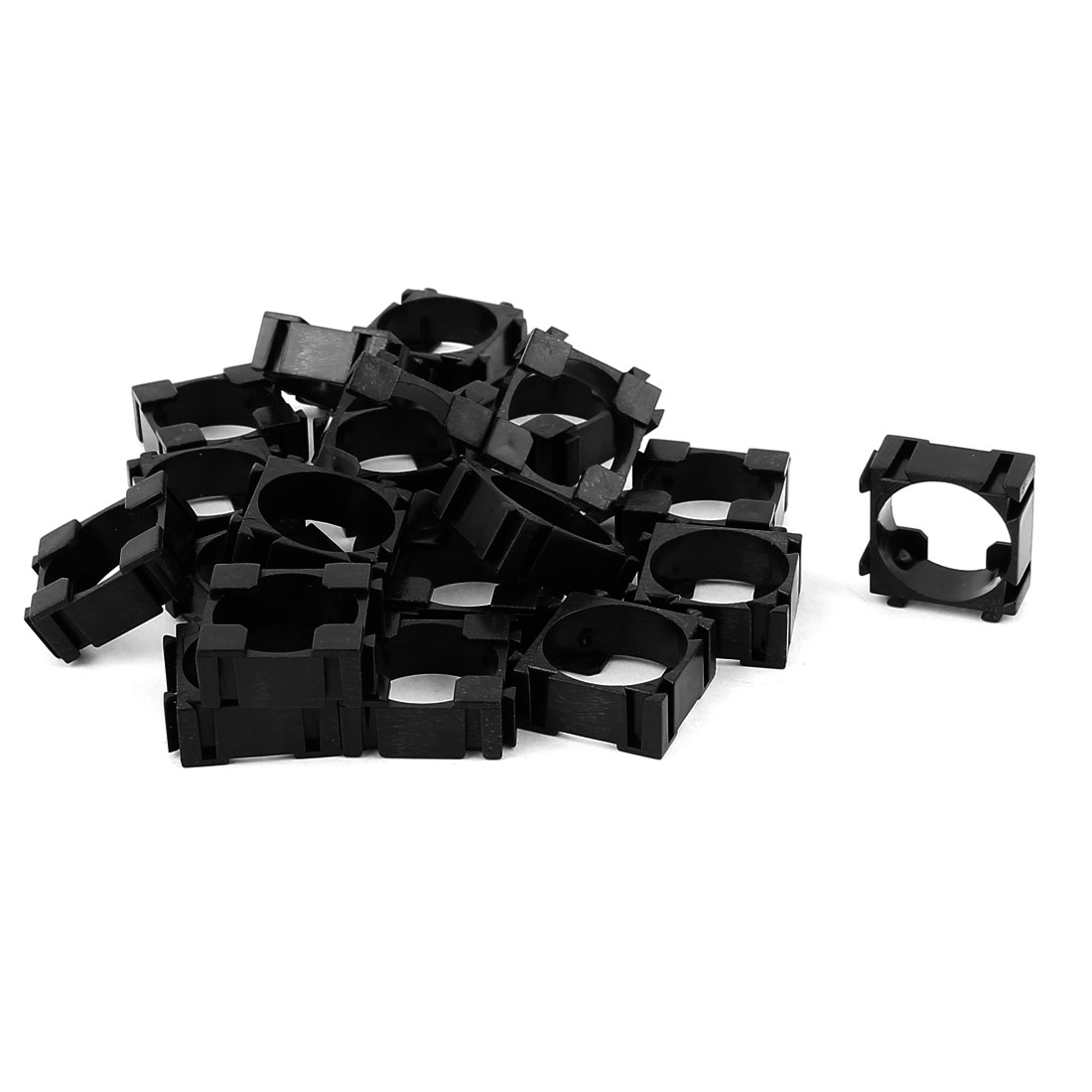 20 Pcs 18650 Lithium Ion Cell Battery Holder Bracket for DIY Battery Pack