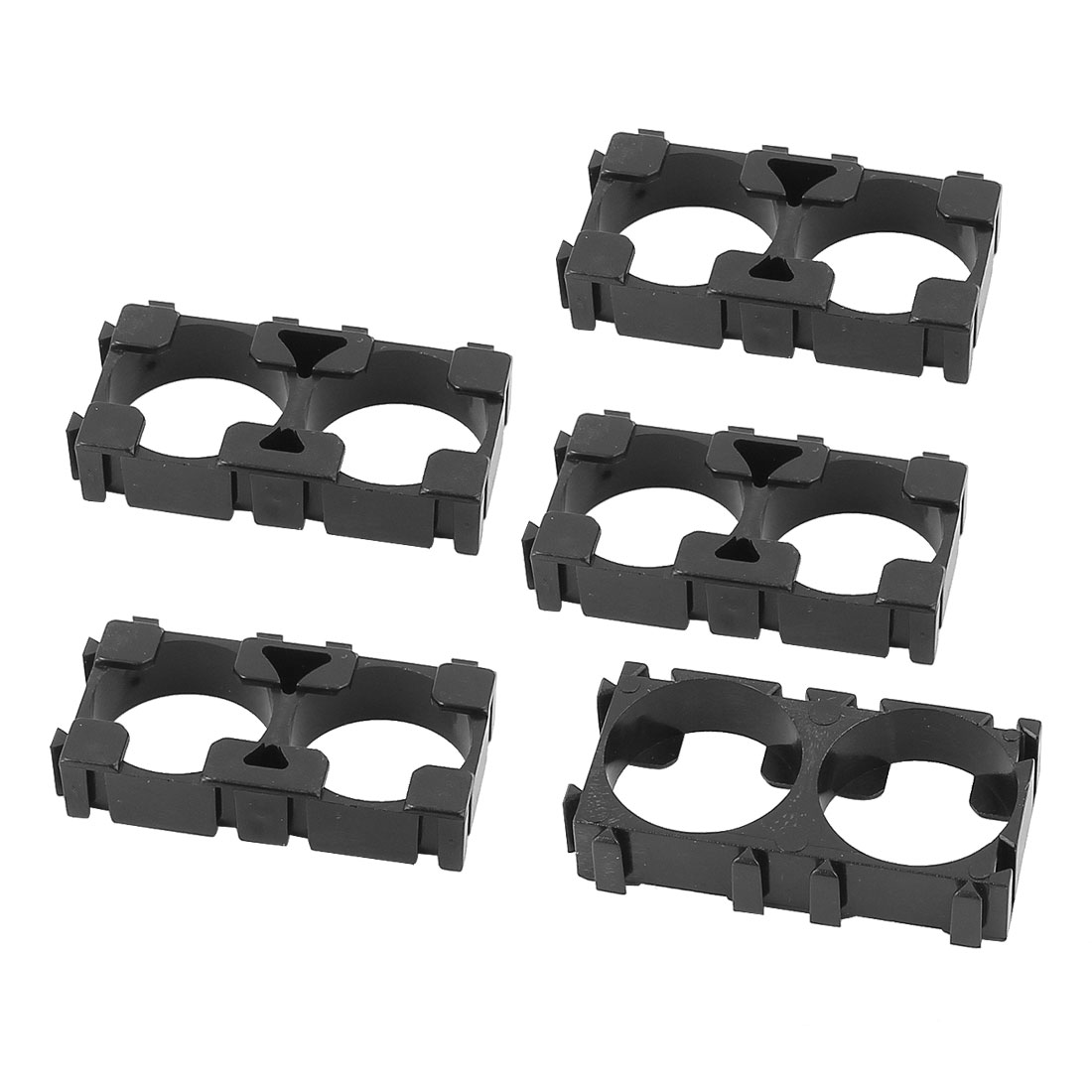 5 Pcs 18650 Lithium Cell Battery Dual Holder Bracket for DIY Battery Pack