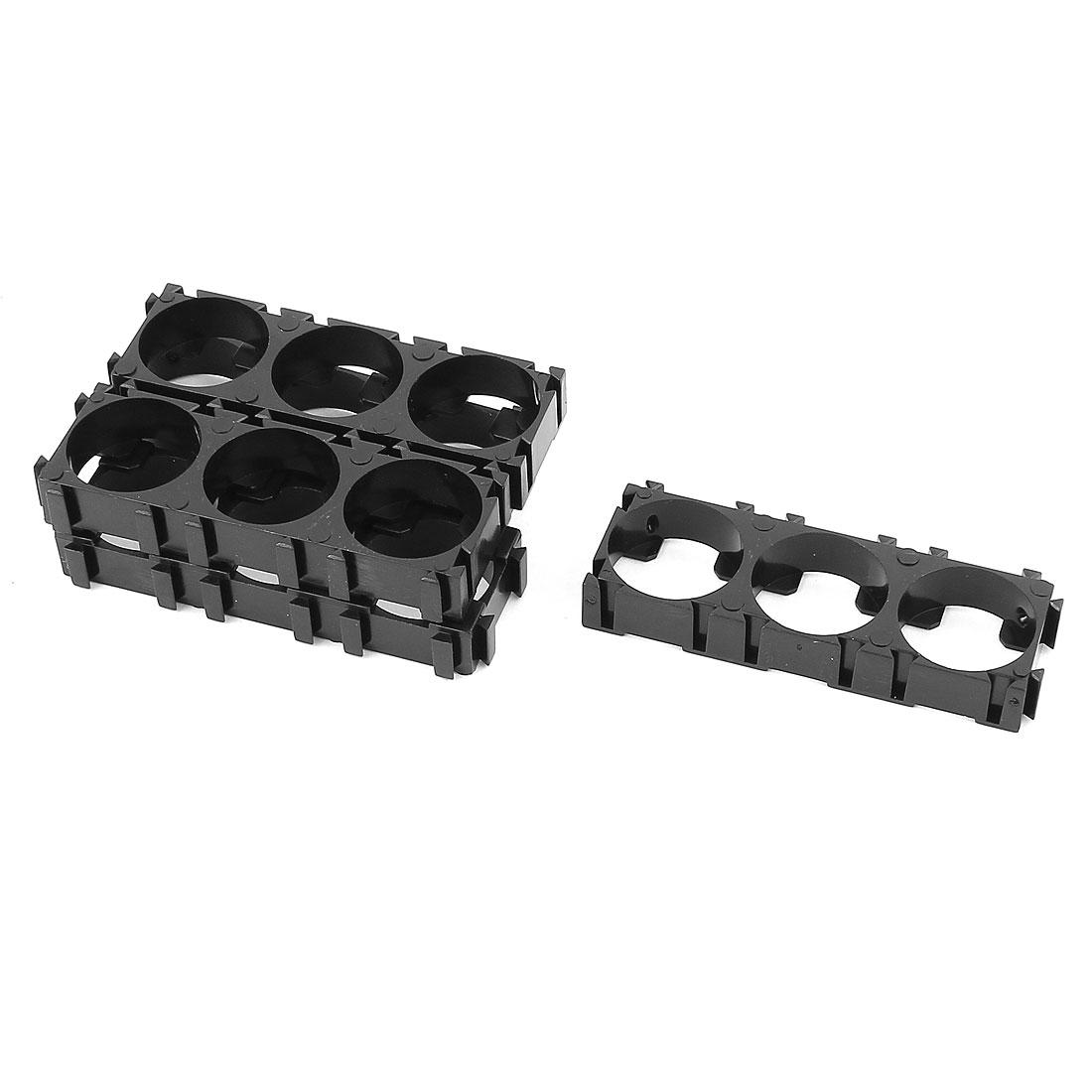 5 Pcs 18650 Lithium Battery Triple Holder Bracket for DIY Battery Pack