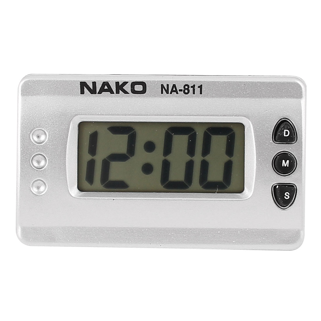Plastic Rectangle Minute LCD Digital Button Count Down up Mini Clip Timer Clock