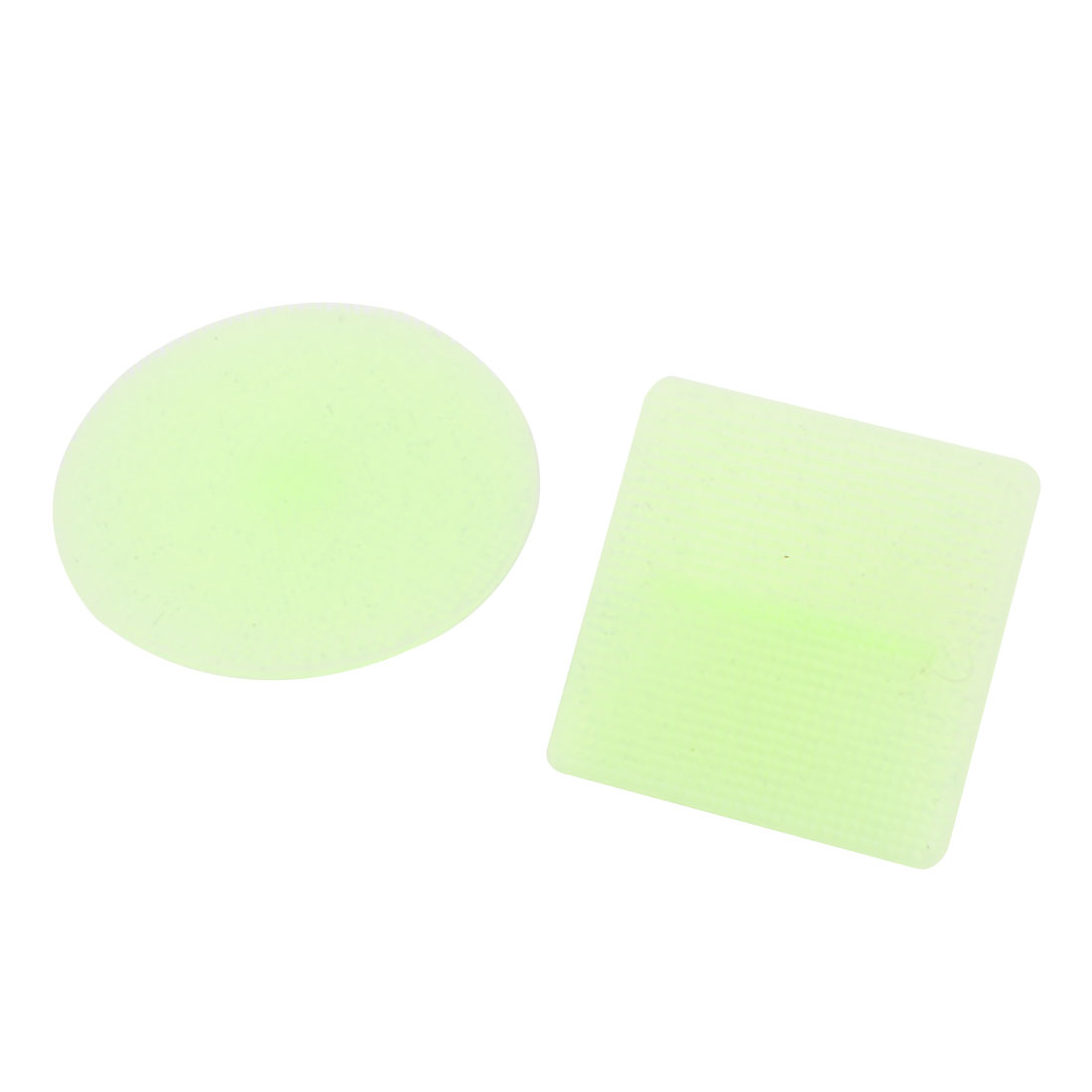 Face Care Light Green Soft Silicone Facial Cleaning Pad Brush Cosmetic Tool
