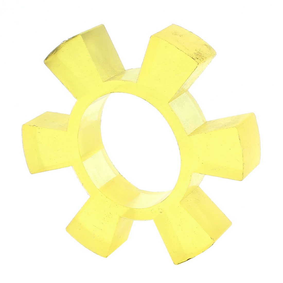 Yellow Polyurethane PU 90mm Dia Coupling Buffer Coupler Damper