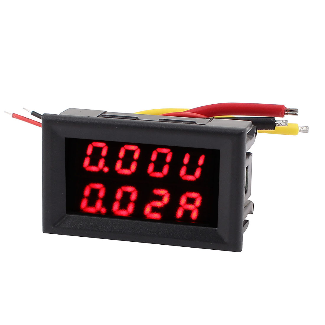 DC 0-300V 0-20A Dual LED Digital Mobile Battery Tester Voltage Current Meter