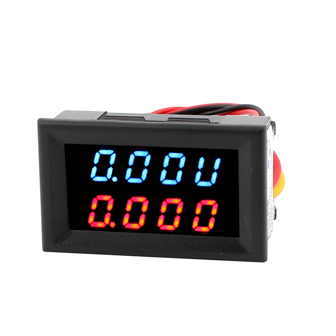 DC 0-300V 0-2A Dual LED Digital Power Battery Tester Voltmeter Ammeter