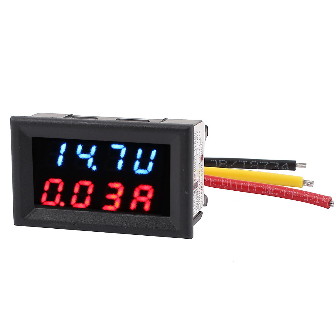 DC 4-30V 0-20A Dual LED Digital Mobile Battery Tester Voltage Current Meter