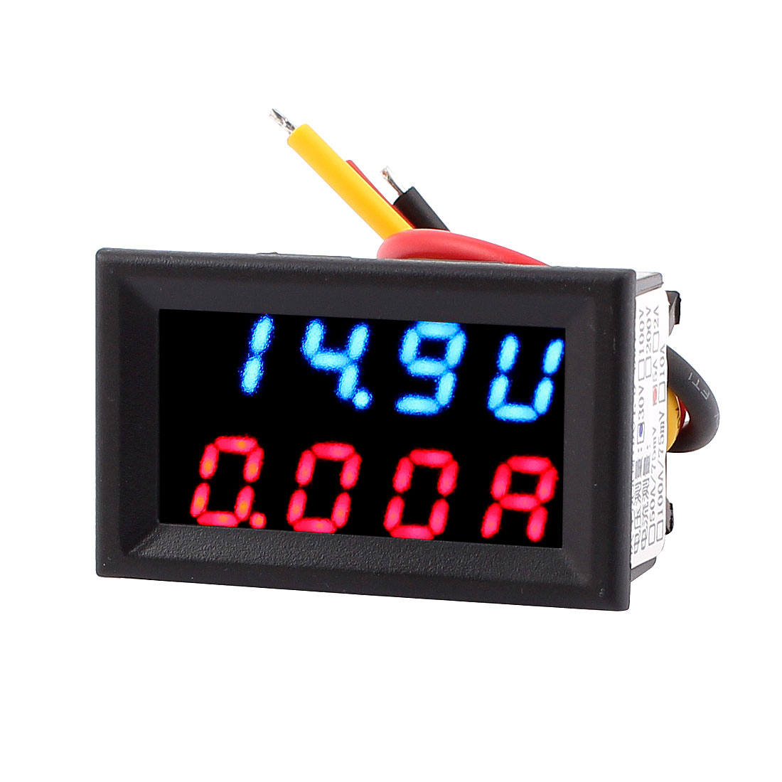 DC 4-30V 0-5A Dual LED Digital Mobile Battery Tester Monitor Voltage Current Meter